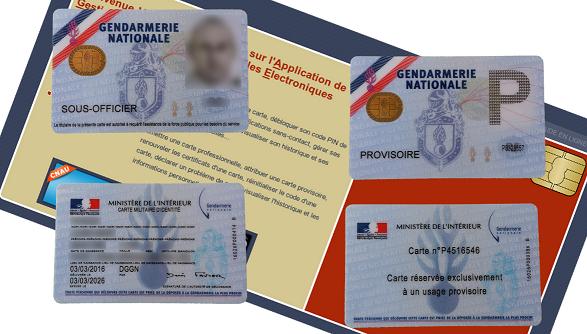 Carte pro gendarmerie