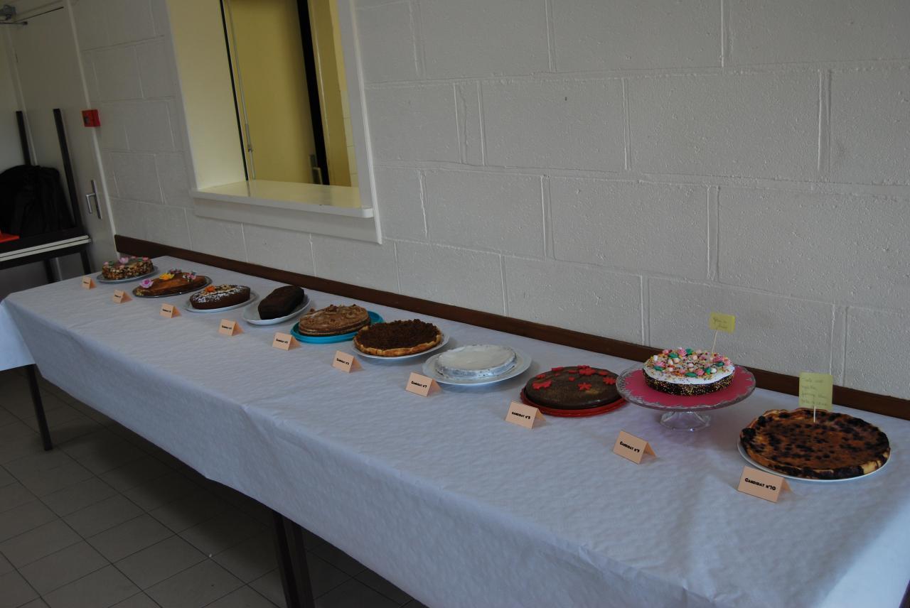 Concours de pâtisserie